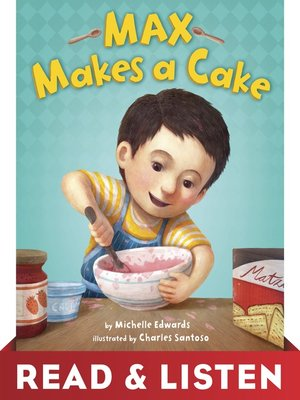 cover image of Max Makes a Cake