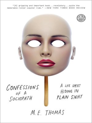 cover image of Confessions of a Sociopath