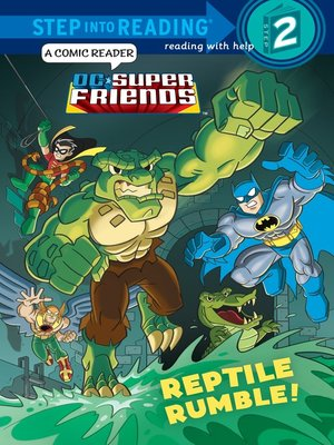 cover image of Reptile Rumble!