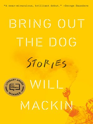 cover image of Bring Out the Dog