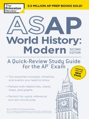 cover image of ASAP World History