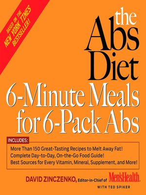 cover image of The Abs Diet 6-Minute Meals for 6-Pack Abs