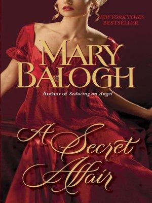cover image of A Secret Affair