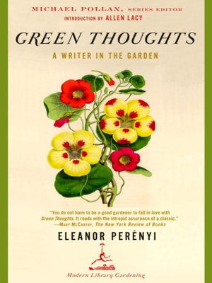 cover image of Green Thoughts