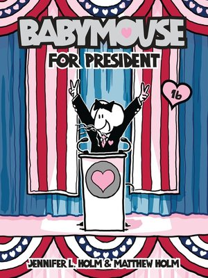 cover image of Babymouse #16