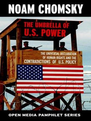 cover image of The Umbrella of U.S. Power