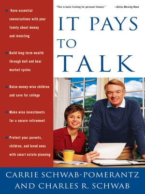 cover image of It Pays to Talk