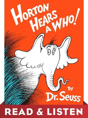 cover image of Horton Hears a Who!