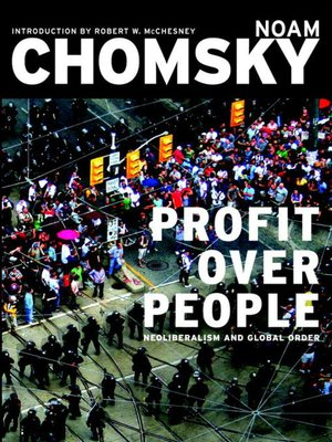 cover image of Profit Over People