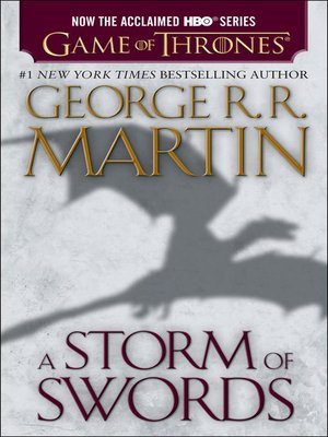 cover image of A Storm of Swords