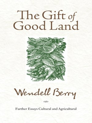 cover image of The Gift of Good Land