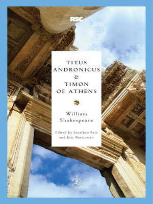 cover image of Titus Andronicus & Timon of Athens