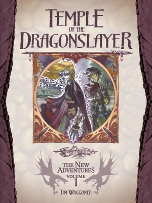 cover image of Temple of the Dragonslayer