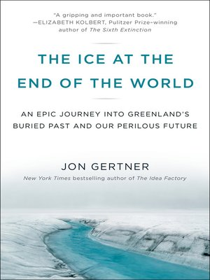 cover image of The Ice at the End of the World