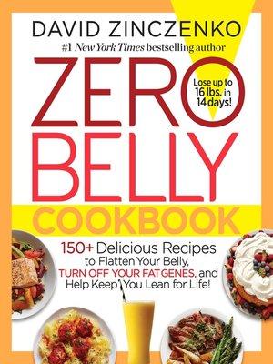 cover image of zero belly cookbook