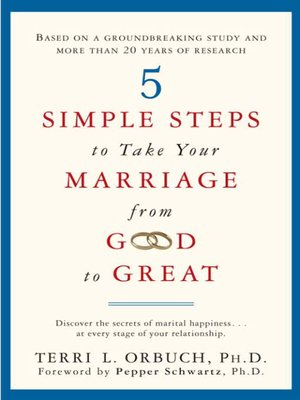 cover image of 5 Simple Steps to Take Your Marriage from Good to Great
