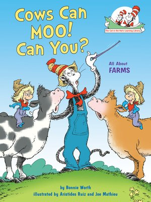 cover image of Cows Can Moo! Can You?
