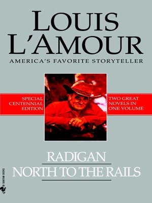 cover image of Radigan and North to the Rails (2-Book Bundle)