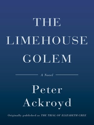 cover image of The Limehouse Golem