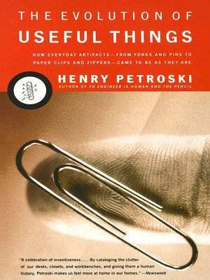 cover image of The Evolution of Useful Things