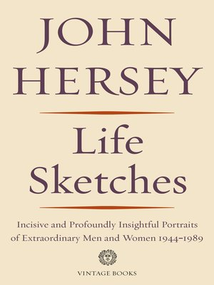 cover image of Life Sketches