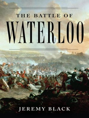 cover image of The Battle of Waterloo