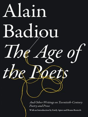 cover image of The Age of the Poets