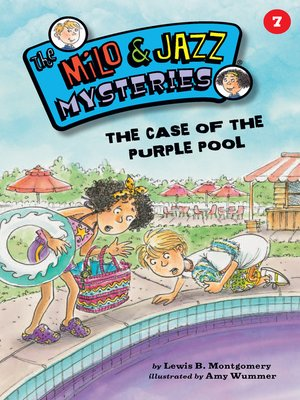 cover image of The Case of the Purple Pool (Book 7)