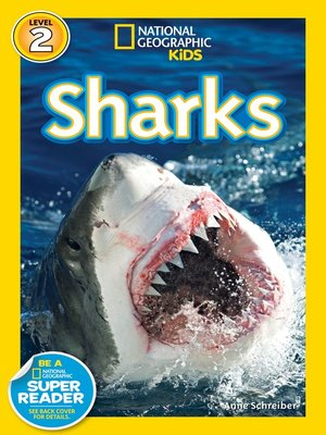 cover image of National Geographic Readers: Sharks!