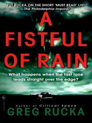 cover image of A Fistful of Rain