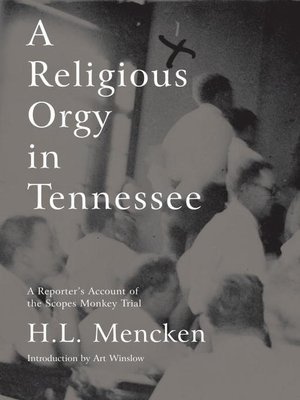 cover image of A  Religious Orgy in Tennessee