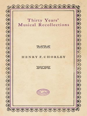 cover image of Thirty Years' Musical Recollections