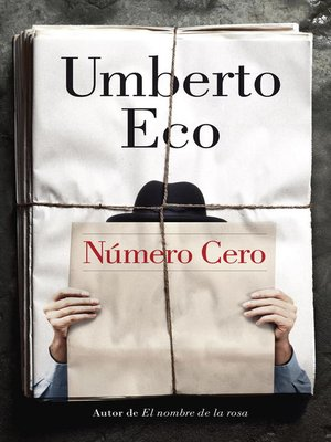 cover image of Número Cero
