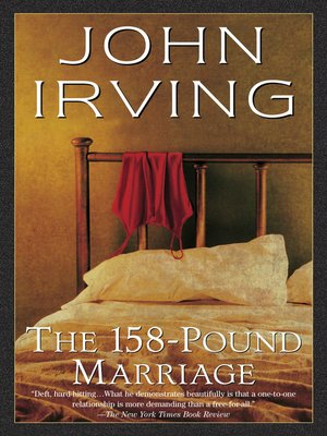 cover image of The 158-Pound Marriage