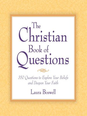 cover image of The Christian Book of Questions