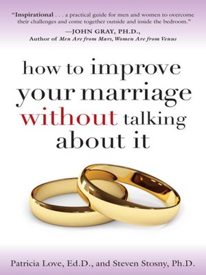cover image of How to Improve Your Marriage Without Talking About It
