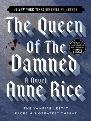 cover image of The Queen of the Damned