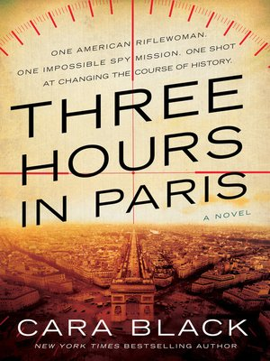 Three Hours in Paris Book Cover