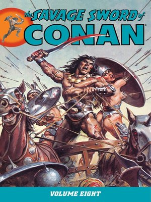 cover image of Savage Sword of Conan, Volume 8