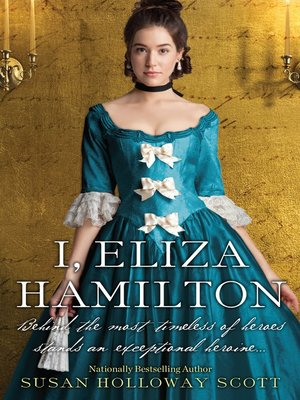 cover image of I, Eliza Hamilton