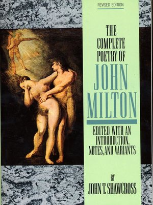 cover image of The Complete Poetry of John Milton
