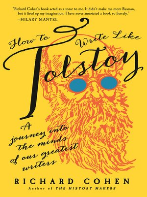cover image of How to Write Like Tolstoy