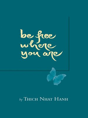 cover image of Be Free Where You Are