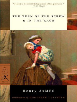 cover image of The Turn of the Screw & In the Cage