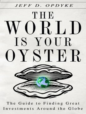 cover image of The World Is Your Oyster