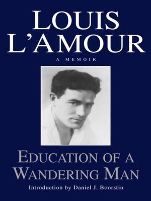 cover image of Education of a Wandering Man