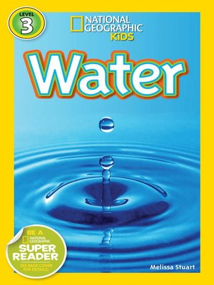 cover image of National Geographic Readers: Water