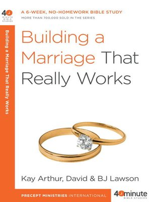 cover image of Building a Marriage That Really Works