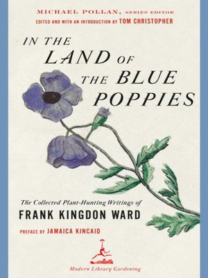 cover image of In the Land of the Blue Poppies