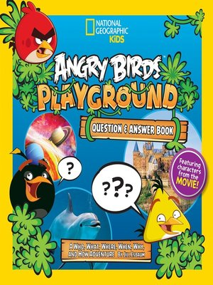 cover image of Angry Birds Playground: Question and Answer Book